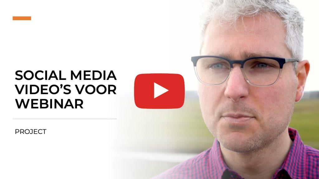 Social media video's voor webinar